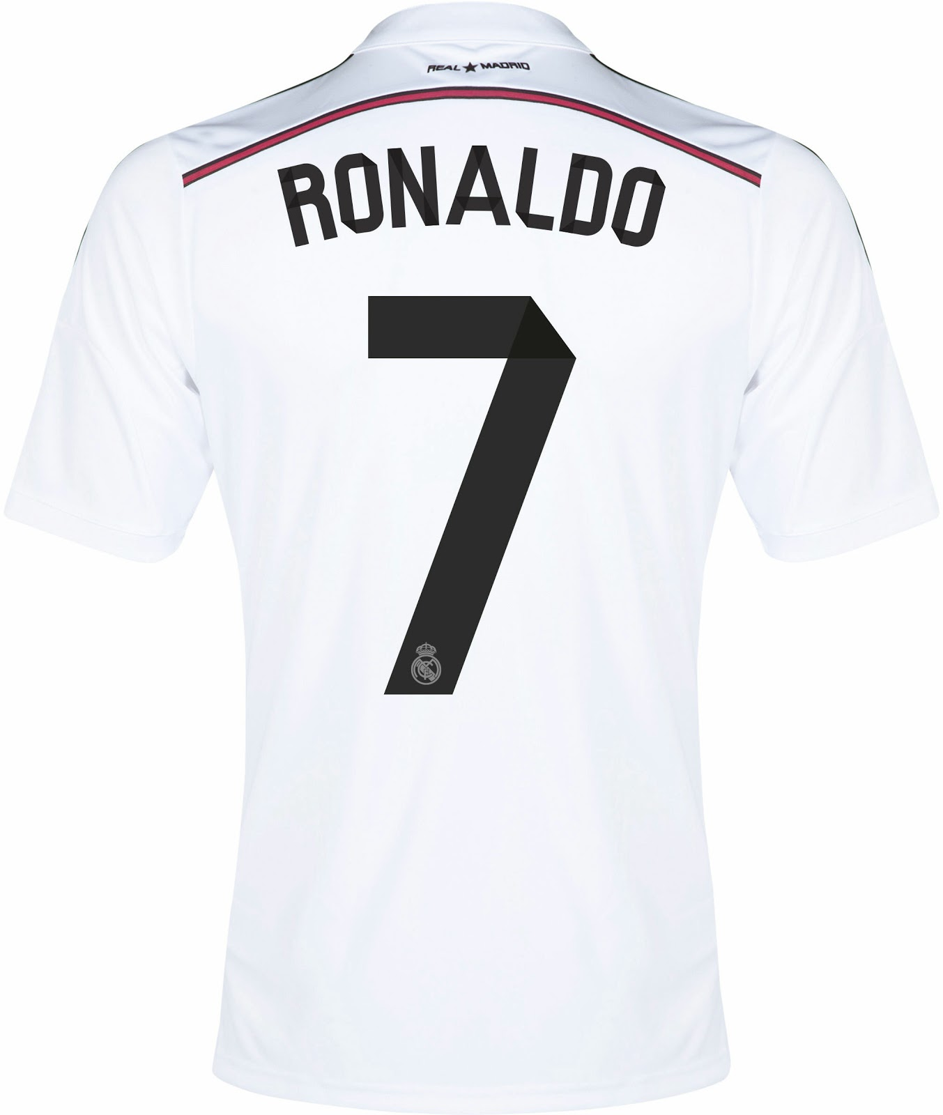 14 Real Madrid Away 2015 Font Images