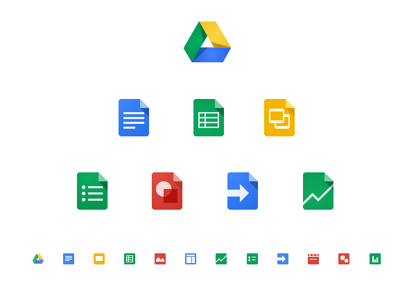 Drive Google Docs Icons