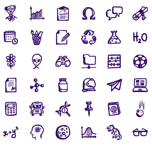 8 Free Education Icons Images