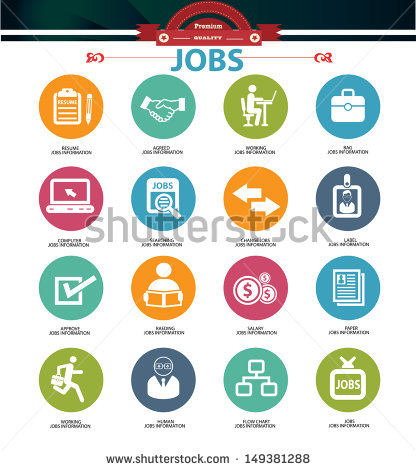 16 Job Icon Vector Images Job Application Icon Human