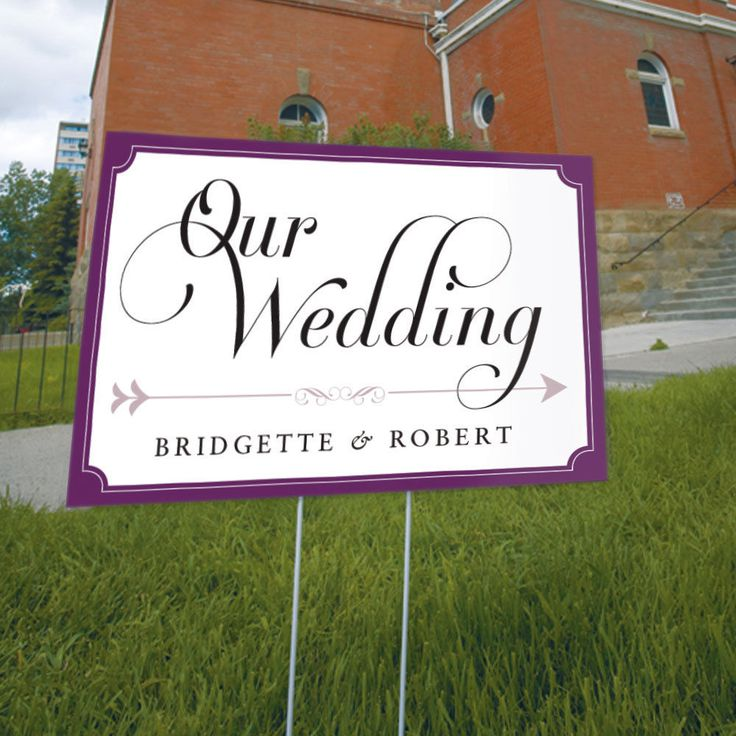 13 Fonts For Wedding Direction Signs Images