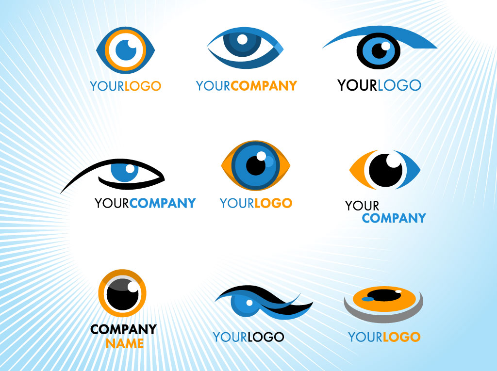 9 Eye Logo Vector Images
