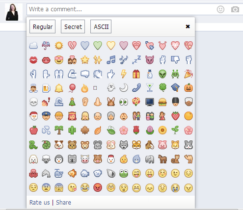 11 New Facebook Emoticons Images