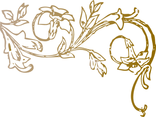 Flower Swirl Clip Art