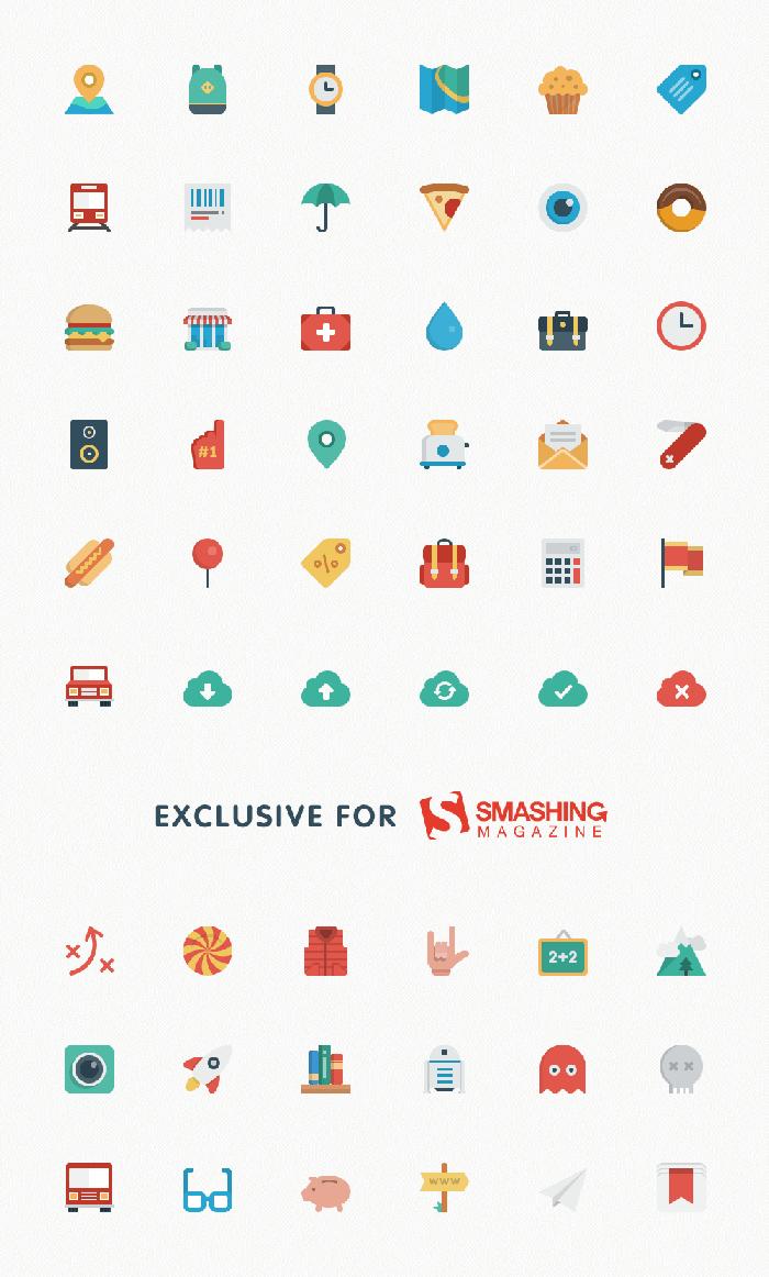 Free Business Icons Set Flat