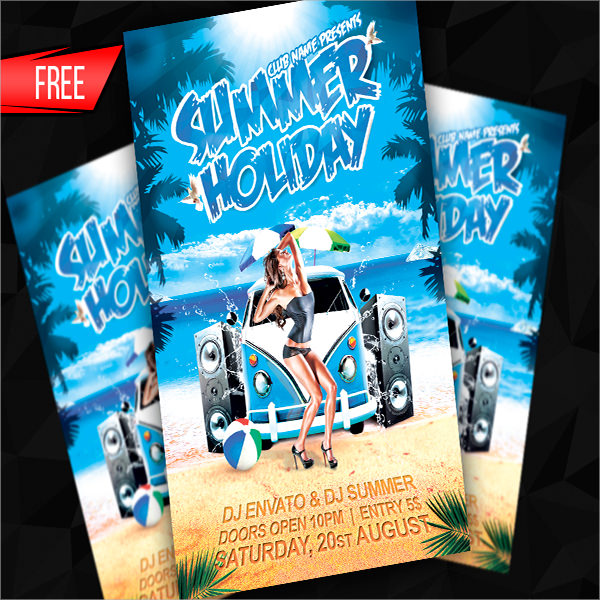 Free Flyer Templates Photoshop