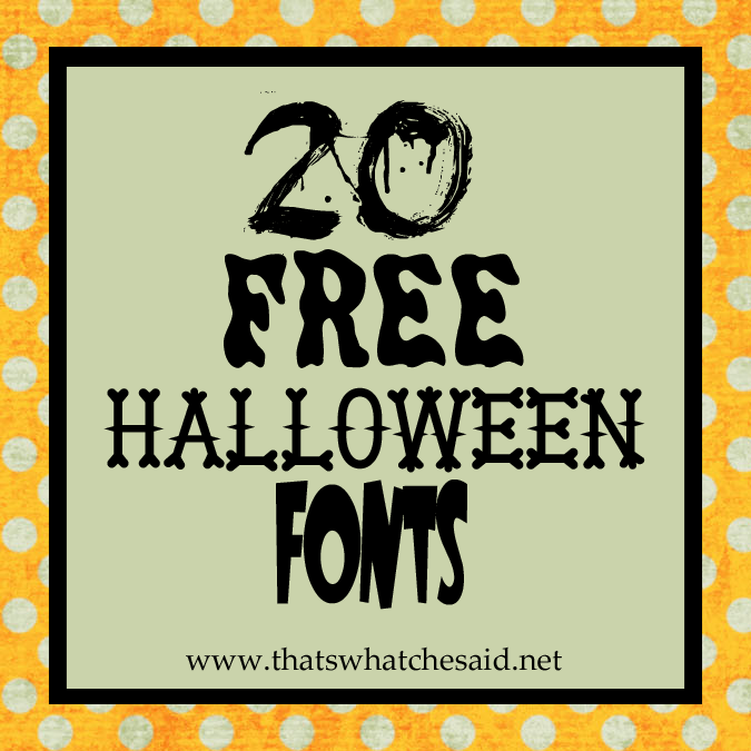 a collection of the best halloween fonts dingbats source 12 free halloween font microsoft word images free halloween - Good Halloween Font
