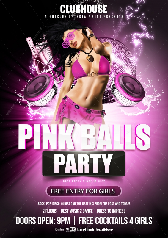 19 Party Flyers PSD Images