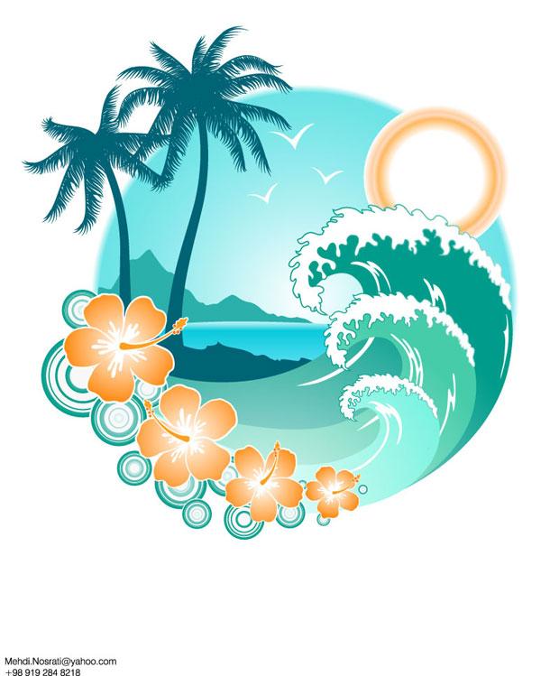 13 Summer Clip Art Vector Images