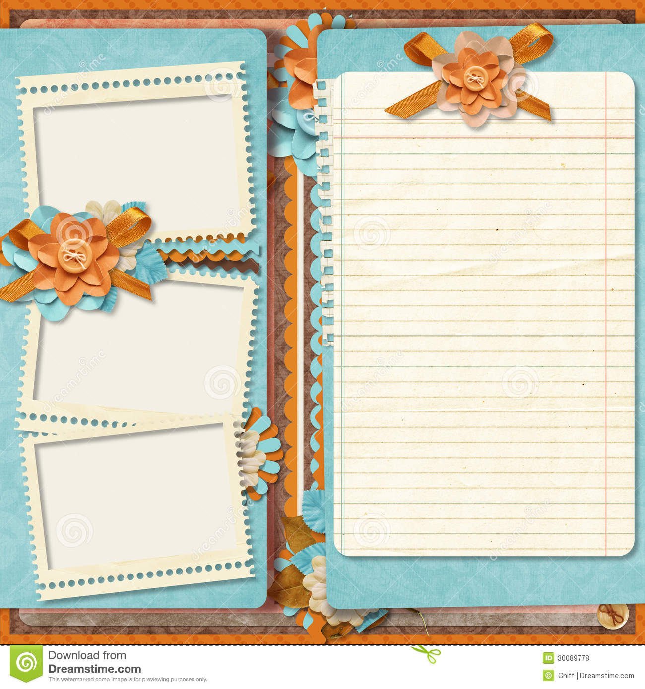 16 design digital scrapbook templates images digital for Templates for scrapbooking to print