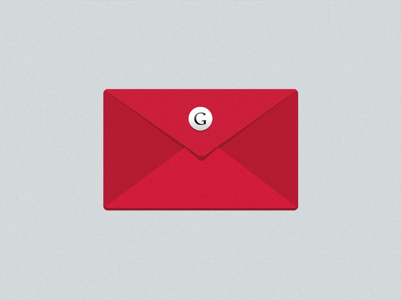 17 Flat Gmail Icon Images