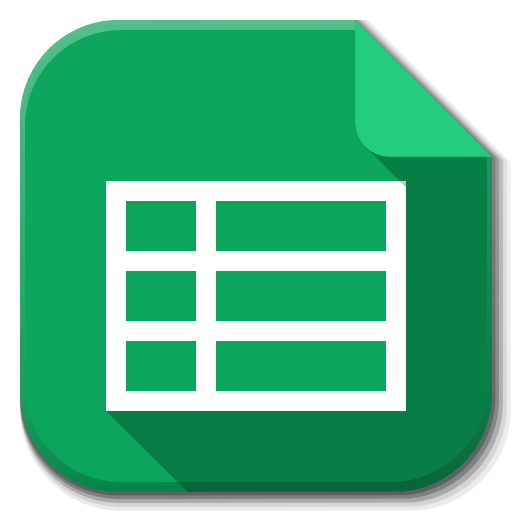 13 Google Sheets Icon Images