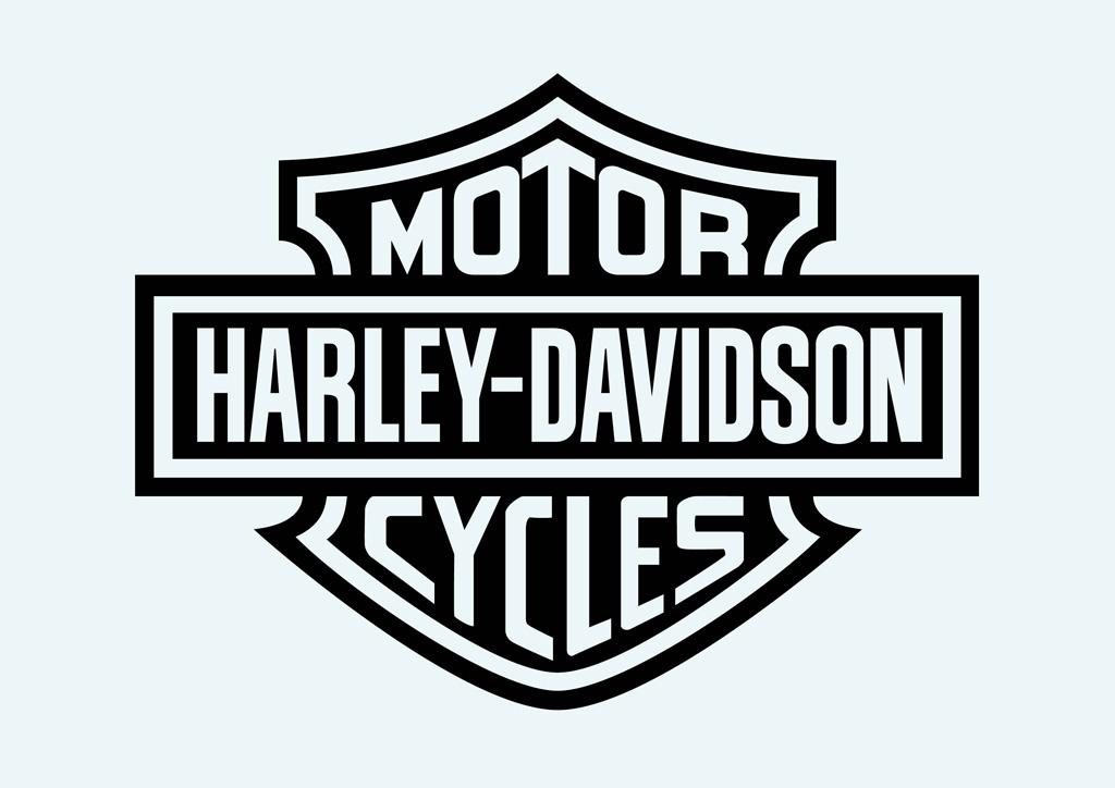 19 Harley-Davidson Vector Clip Art Images