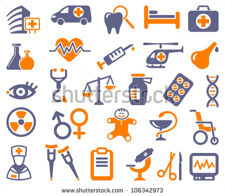9 Medical Equipment Icon Images