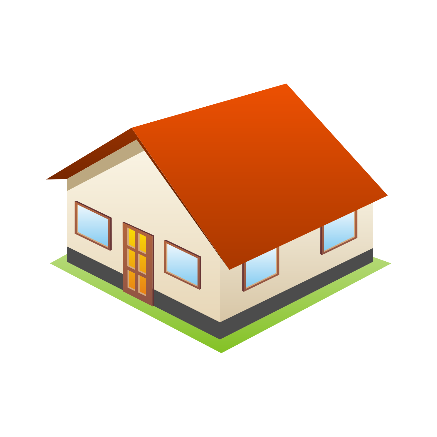 10 3D Home Icon Images