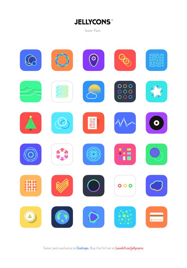 iOS 8 App Icons