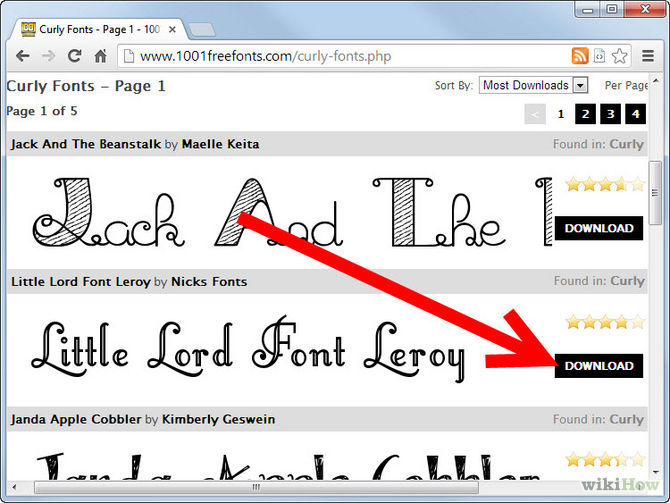 Microsoft Fonts Free Download for Windows 8