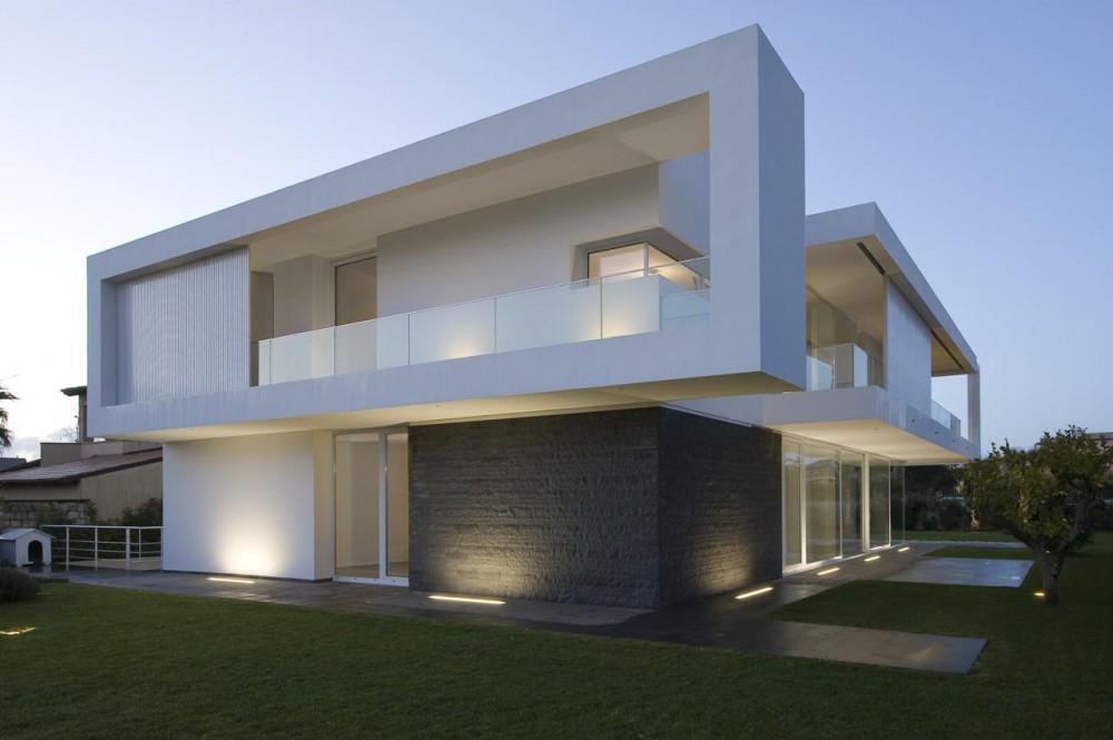 Modern Italian Villa Architecture Design