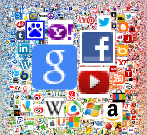 Most Popular Websites Icons