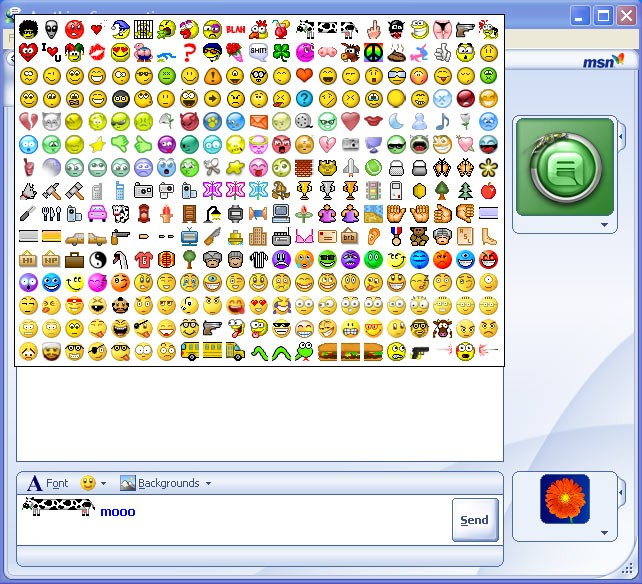 5 Animated Emoticons For MSN Images