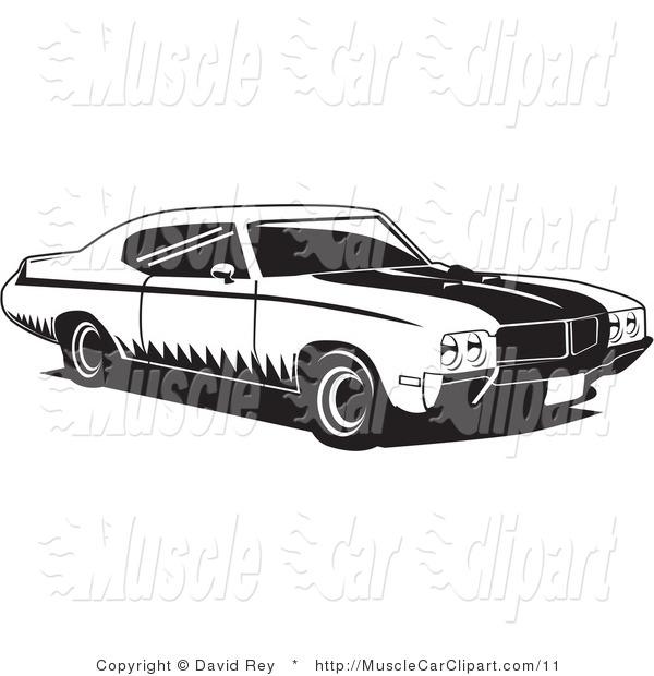 10 Buick Vector Car Clip Art Images