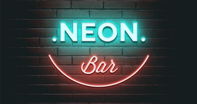 17 Neon Light Effect Photoshop Images