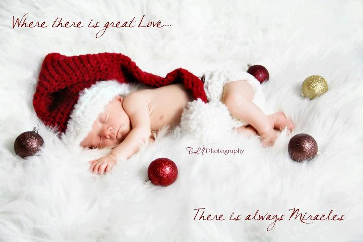 Newborn Christmas Photography Props