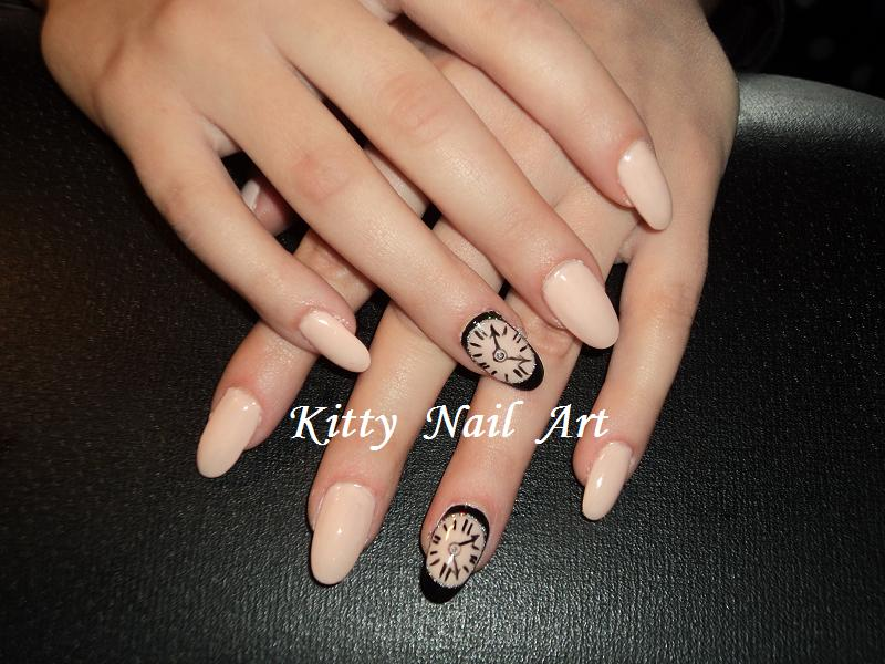 Oval Acrylic Nails Designs