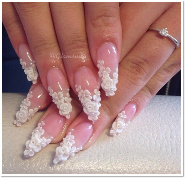 Oval Nail Design