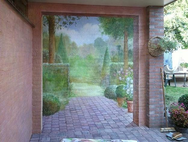 14 exterior brick wall designs images outdoor brick wall ideas custom dream home design and - Exterior brick painting ideas photos ...