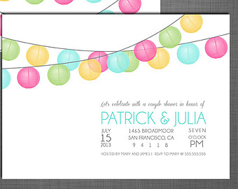 7 5x7 Wedding Psd Sparkles Images Girls Night Out Invitation