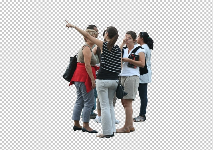 Photoshop People Cutouts