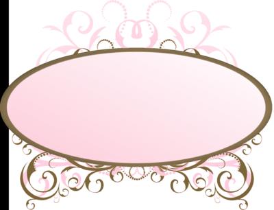 Pink Transparent Border