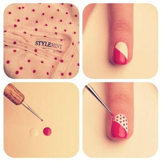 14 Homemade Nail Designs Images - Do It Yourself Nail Art Design ...