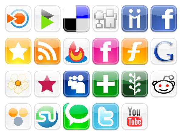 Popular Logos Icons