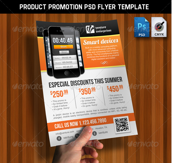 11 Free Psd Product Flyer Template Promotion Images Product