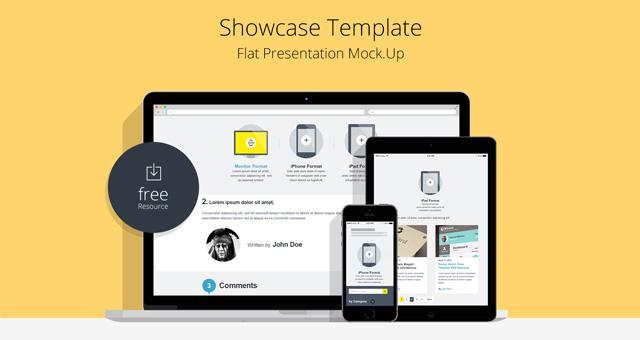 Responsive Design PSD Mockups