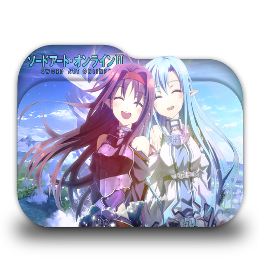 Sao Sword Art Online Folder Icons