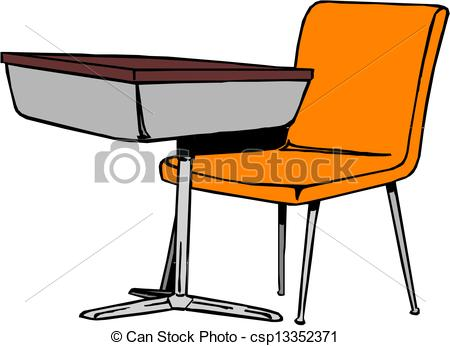 9 School Desk Icon Images