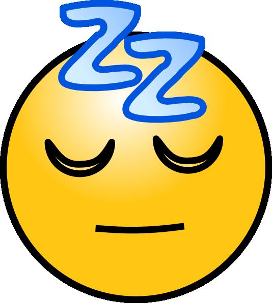 5 Animated Sleeping Emoticons Images