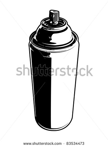 20 Large Spray Can Vector Images