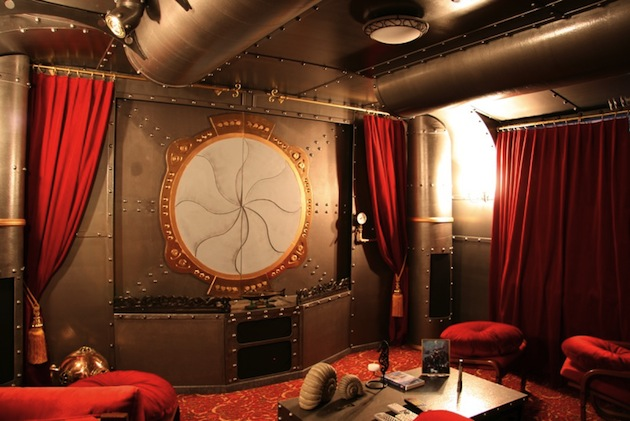Steampunk Home Theater