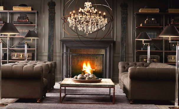 Steampunk Interior Design Living Room Ideas