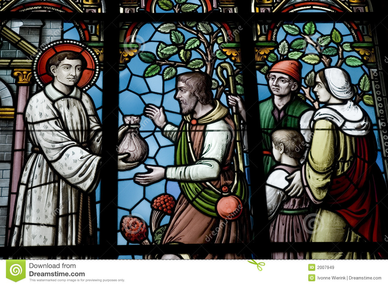 Stock Images Royalty Free Stained Glass
