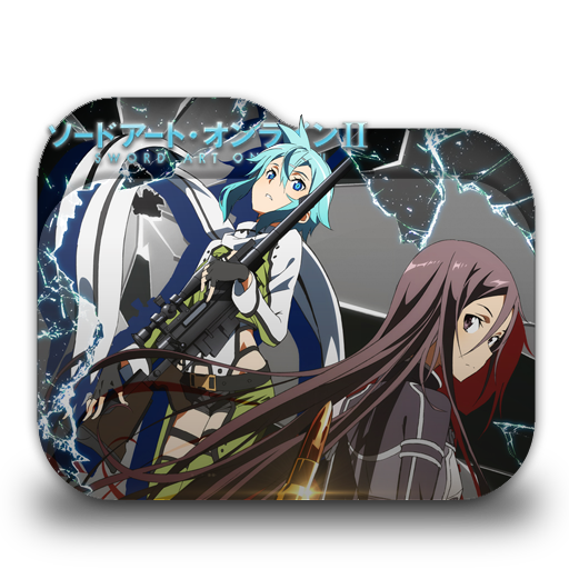 Sword Art Online 2 Folder Icon