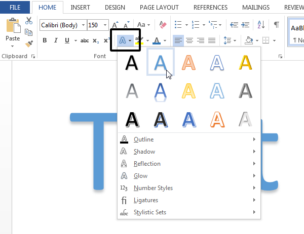 12 Microsoft Word Font Effects Images