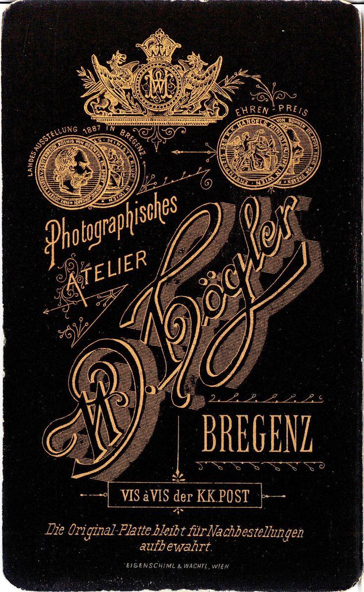 Vintage 1800s Typography