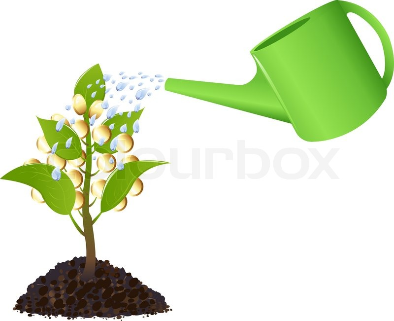 Watering Plants Clip Art