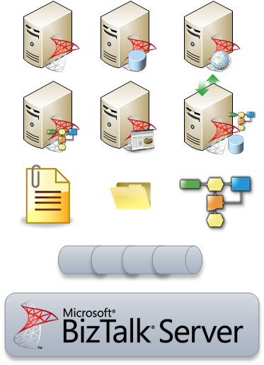 Web Server Icon Visio