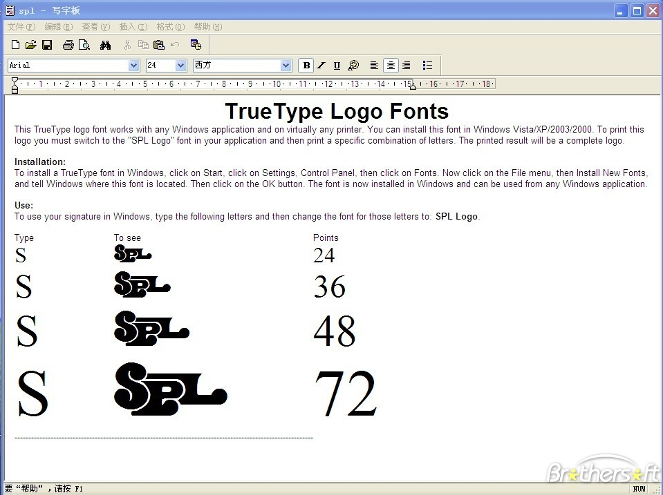 Windows Truetype Fonts Download